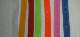 Elastic adjustable sewing band strip lace waist rubber with slots for button for diy pants per meter