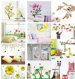 Local seller- 1-2days delivery Window Scene Wall Sticker -For your plain wall --From wall to window