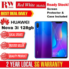 Huawei Nova 3i 128GB (Black/Purple) 2 Year Huawei Local Warranty