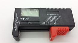Digital Universal Battery Tester for 9V 1.5V and AA AAA C