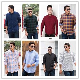 8cbe6cdeb3 2018 Autumn New Arrival Mens Plus Size Shirt  Plus Size Clothing Oversize  Shirt