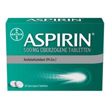 BAYER Aspirin ASPIRIN® 500 mg 20 tablets