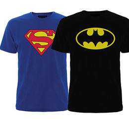 Combo T-shirts Super Hero Combo T Shirt ( Superman and batman1 ) Osiyankart [CES]