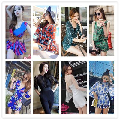 62088693c59 2017 Lady jumpsuit women coverall beach jumpsuit Star style jumpsuit girl  jumpsuit