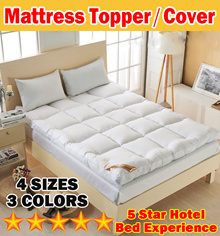 【On Sale】5CM/10CM Japanese Mattress Cover/Mattress Topper/Protector /Tatami Blanket/Anti-bacterial