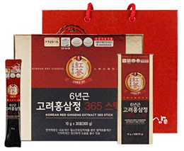 ★ jeong-wonsam★ 6 year old korean red GINSENG jung 365 stick / health supplement