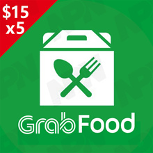 GrabFood $15 x 5 Promo Code 🍴 [Click Link In Email to Redeem*Fast  Instant*No need to enter Code