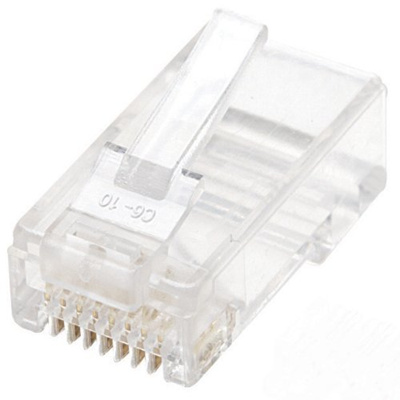 10-PACK Intellinet 6 inch CAT5e UTP RJ45 Network Ethernet Patch Cable Blue