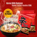 [Nongshim]Korea SHIN Ramyun Ramen Instant Noodles (120g) X 20 Pack 1BOX