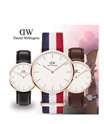 FREE SHIPPING/  ★100% Original★DW DANIEL WELLINGTON/ Daniel Wellington Nato and Leather Strap Watches! For Men and Ladies