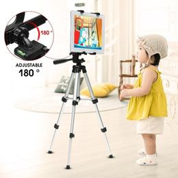 Adjustable Portable Telescopic Tablet Tripod Stand Holder Mount Bracket for iPad1 2 3 4 Air Mini Gal