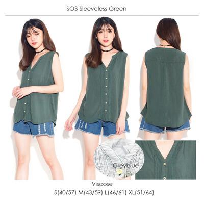 SOB Sleeveless Green