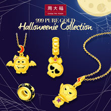 Chow Tai Fook 999 Pure Gold Halloweenie Collection