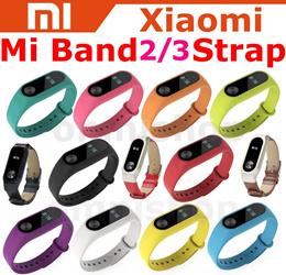 [Free Shipping] Xiaomi Miband 2 Strap Mi Band 2 3 Wrist Silicone Leather Smartwatch Bracelet Fitness