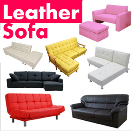 [BLMG_SG] Leather Sofa/PU/Clearance/Fabric/Leather/Sofabed/Kids/Storage/furniture/living