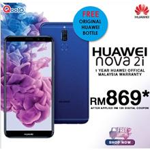 Huawei Nova 2i 4/64GB Original Huawei MAlaysia + FREE BOTTLE