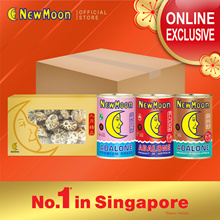 NEW MOON Globe Bundle 3s - Abalone NZ + SA16-18 pcs + AU 8-10 pcs FREE Dried White Mushroom