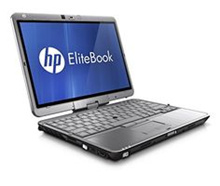 HP EliteBook 2760p - 12.5 - Core i5 2520M - 4 GB RAM - 320 GB HDD as it is