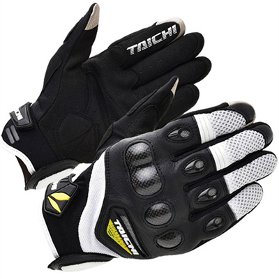 motorcycle leather gloves rs taichi 418 perate carbon fibre gant protection summer guantes moto