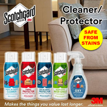 [Official E-Store] Scotchgard™ Cleaners and Protectors - Fabric / Upholstery / Carpet / Rug / Outdoo