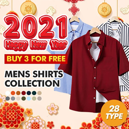 [HOTCODE] 28 Type Mens short sleeve / shirts / big size / dress / check / strip