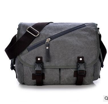 Canvas Single Shoulder Bag for Men Women Sling Messenger Bags Travels Bag Deals for only S$65.99 instead of S$0
