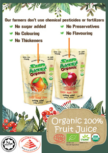 💓Sun Blast 💓(certified Organic Healthier choice) 100% fruit juice certified Halal. CANMART qxpress