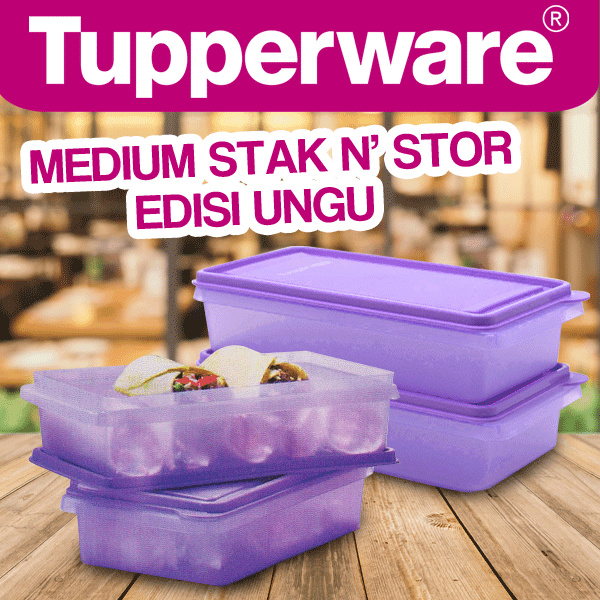 Super Sale!!! - Medium Stak N' Stor Deals for only Rp228.000 instead of Rp228.000