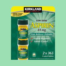 Kirkland Aspirin 730 tablets