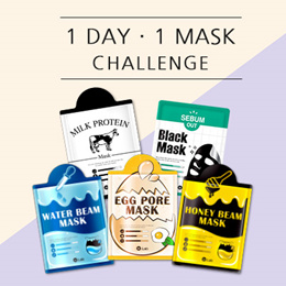 [W.Lab] 1DAY 1MASK Challenge ✨ 5 Varieties to Choose