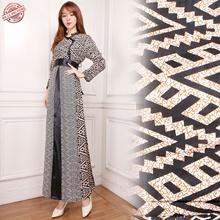 PROMO DAHSYAT Gamis Maxi Dress Pida Longdress Terusan Batik Wanita