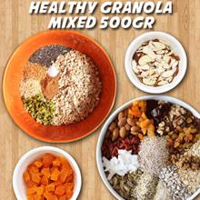 Healthy Granola Mixed A 500gr / Mixed B 500gr / Mixed C 500gr / Super Mixed 500G  ID