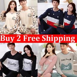 Couple Pajamas Top and bottom Set COUPLES SLEEPWEAR Nightdress Sleeveless  Short- 43448b535