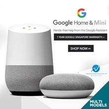 Google Home dan Google Home Mini (Garansi Google Tahun 1 Tahun)
