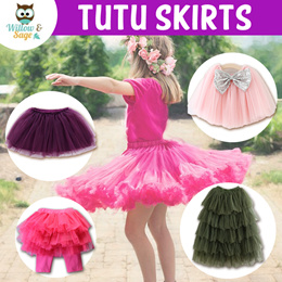AU SELLER Adults Teens Ballet Dance Party Costume 5 Layered Tutu Skirt da017
