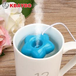 KBAYBO 신상 패션 미니 USB 도 너 츠 가습기 공기 청정 기 방향 확산 기 제조 업 체 스팀 휴대용 사무실