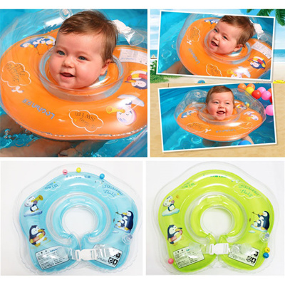 2d50c57d14  cheapest in town  Lechin Cartoon design baby inflatable swimming neck  ring  neck float