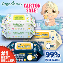 [ORGANIC STORY] DAILY CARE / LAFORETTY BABY WET WIPES ♥ AWARD-WINNING ♥ MADE IN KOREA ♥ THICK N SOFT
