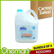 [KODOMO] ★ CARTON OF 4 ★ Baby Laundry Detergent 3000ml★ SPECIALLY FOR WASHING BABYWEAR AND DIAPERS