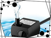 80 GPH (300L/H) Submersible Water Pump For Pond, Aquarium, Fish Tank Fountain Water Pump Hydroponics