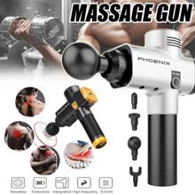 [PHOENIX] Portable Electronic Therapy Muscle Massage Gun Massage Body Relaxation Pain