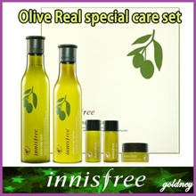 [Innisfree] Olive Real Perawatan Khusus Set [Skin 180ml + Lotion 160ml]