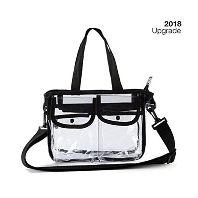 bfb5e98a6f49 MAOO Clear Tote Bag NFL PGA Stadium Approved - The clear Beach Bag Tote Is  Perfect for Travel,Work,