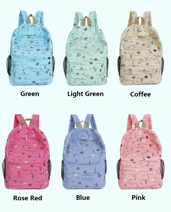 [Local Seller][Free Delivery]Latest Women Preppy Korean Model Canvas Backpacks/Computer/School Bag Deals for only S$58 instead of S$0