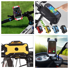 [Qoo10 CHEAPEST] Universal Bicycle Motorbike Phone Holder / Pouch / Saddle Bag accessories