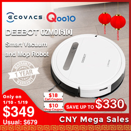 ECOVACS DEEBOT OZMO 610 /OZMO™Mopping Technology /App Control /Google Home Support