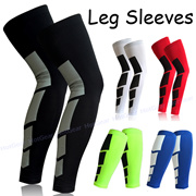 Sports Compression Protection Leg Sleeves ◇ Shin Calf Guard Socks for Running Soccer Cycling 【SG】
