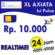 Pulsa XL Rp. 10.000- REALTIME 24 jam non-stop! Menambah Masa Aktif (Mohon baca cara pengisian