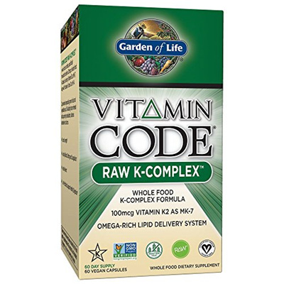 ▷$1 Shop Coupon◁ Garden Of Life Vitamin K   Vitamin Code Raw K Complex