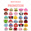 [BEST DEALS] - QQ Cartoon Children S Boys And Girls Backpack Bags / Combine Shipping Fee!!